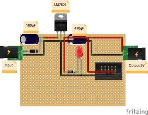 spannungswandler lm modul selber bauen ardutronix