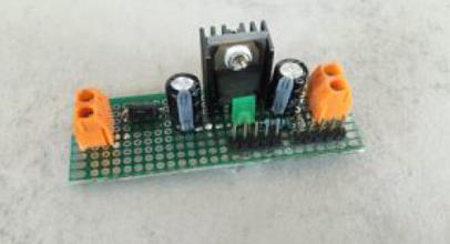 spannungswandler lm7805 modul selber bauen ardutronix. Black Bedroom Furniture Sets. Home Design Ideas