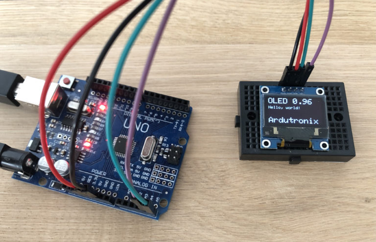 Arduino 0.96 Display