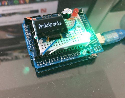Arduino-Füllstandsensor