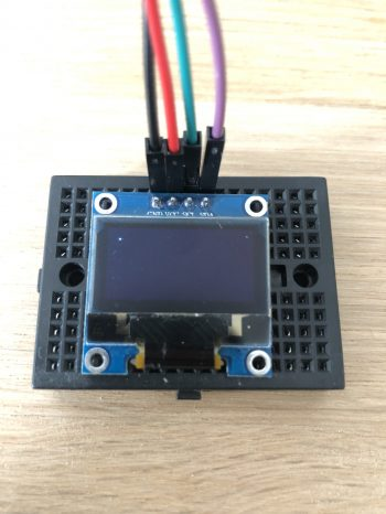 Arduino-I2C-Oled-0.96-Display-Pixel-Punkt