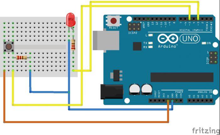 Taster mit Arduino
