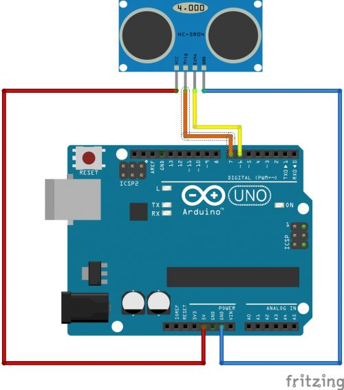 arduino-wasserpegel-sensor