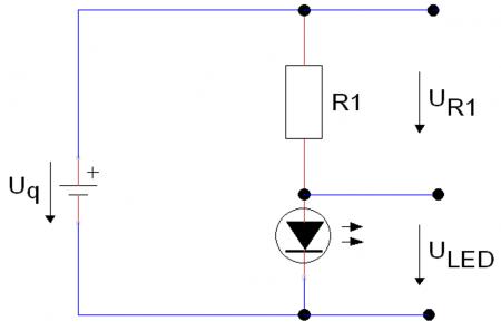 einfache-LED-Grundschaltung